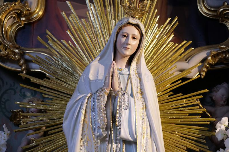 Our Lady of Fatima royalty free stock image