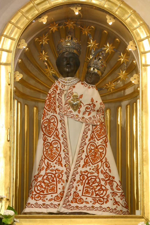 Our Lady of Marija Bistrica stock photography