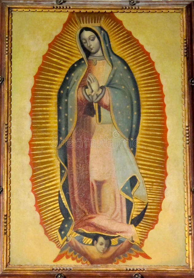 Free Our Lady Of Guadalupe, St. Patrick`s Cathedral Stock Images - 79993634