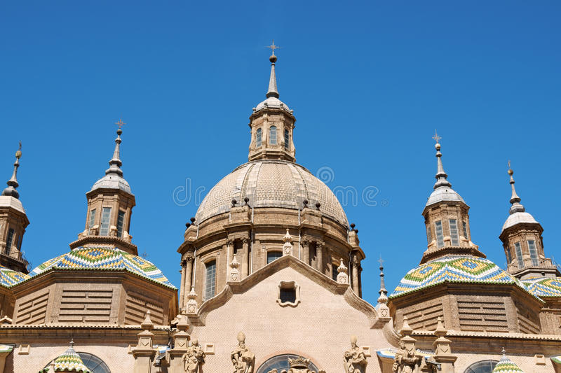 Download Our Lady Of The Pillar In Zaragoza Stock Image - Image: 21350723