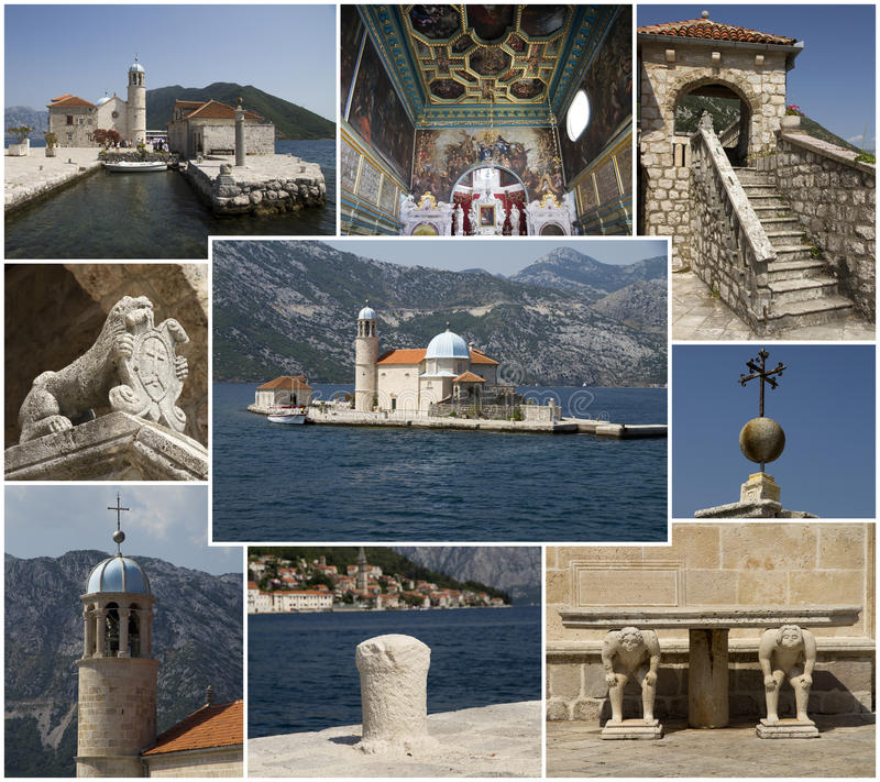 Download Our Lady Of The Rocks, Collage Royalty Free Stock Photos - Image: 26580248