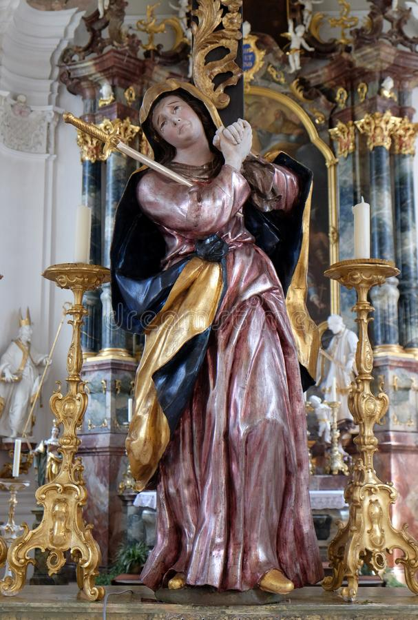 Our Lady of Sorrows royalty free stock photography