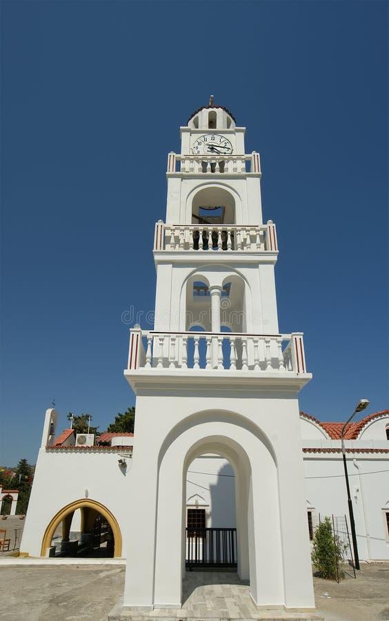 Our Lady Tsambika Monastery. Rhodes. Greece. Royalty Free Stock Photography