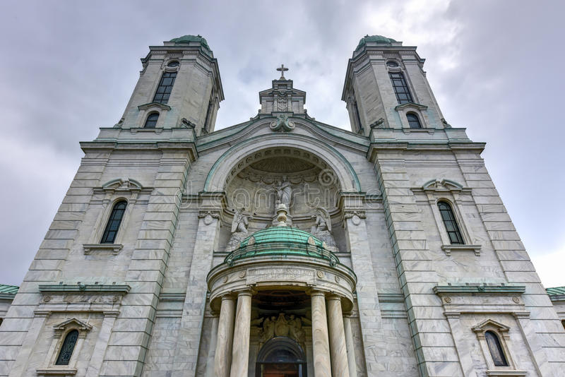 Our Lady of Victory Basilica - Lackawanna, NY royalty free stock images