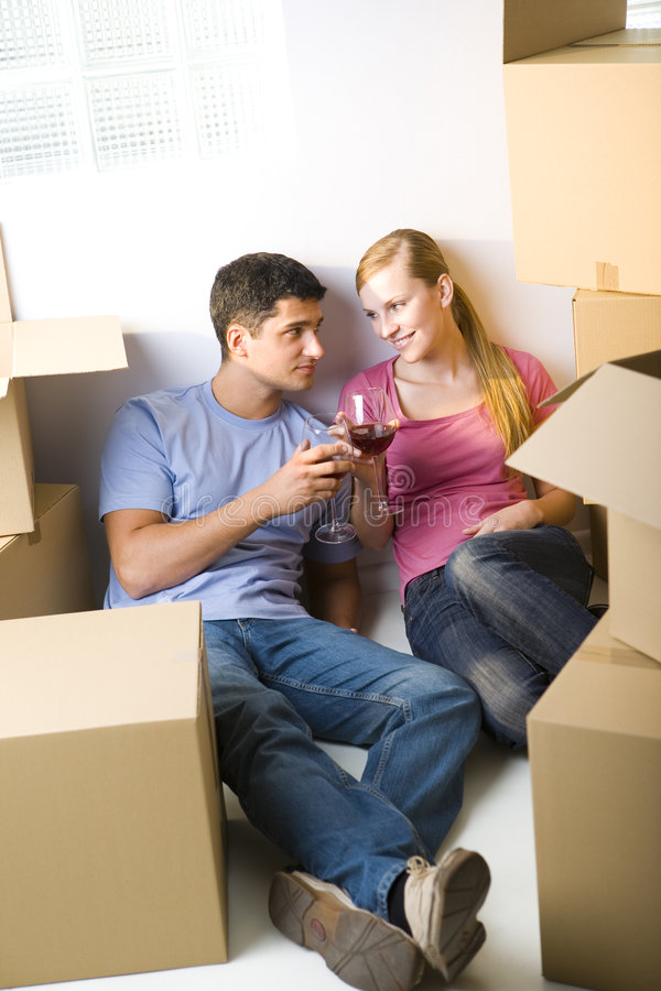 For our new house royalty free stock images