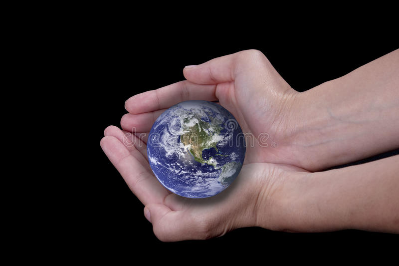 Download Our Planet stock image. Image of female, human, keeping - 20094875