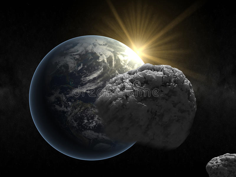 Our planet royalty free stock image