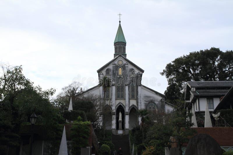 Oura教会在长崎 库存照片