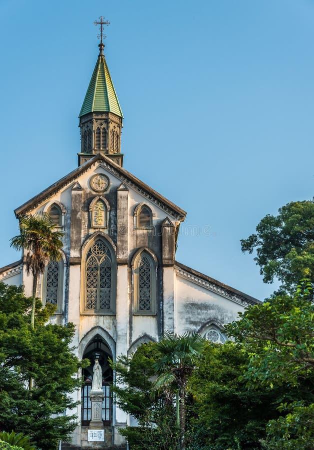 Oura katedra Nagasaki obraz royalty free