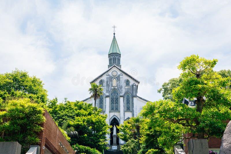 Oura Katholieke kerk in Nagasaki, Japan royalty-vrije stock foto's