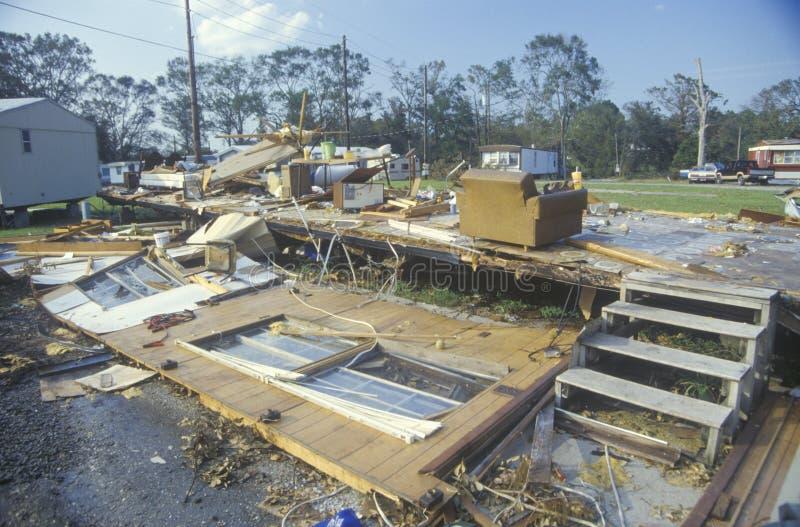 Ouragan Andrew photos libres de droits