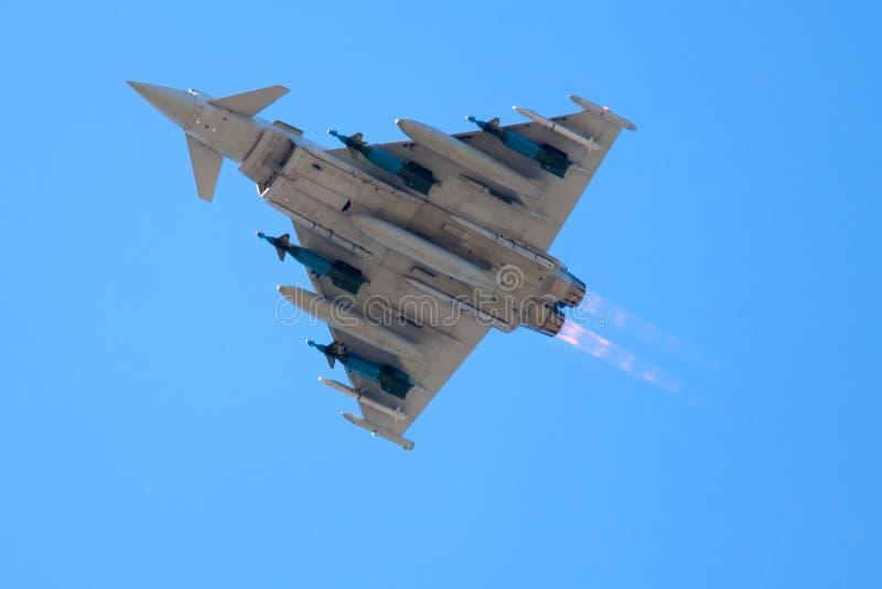 Ouragan d'Eurofighter images libres de droits