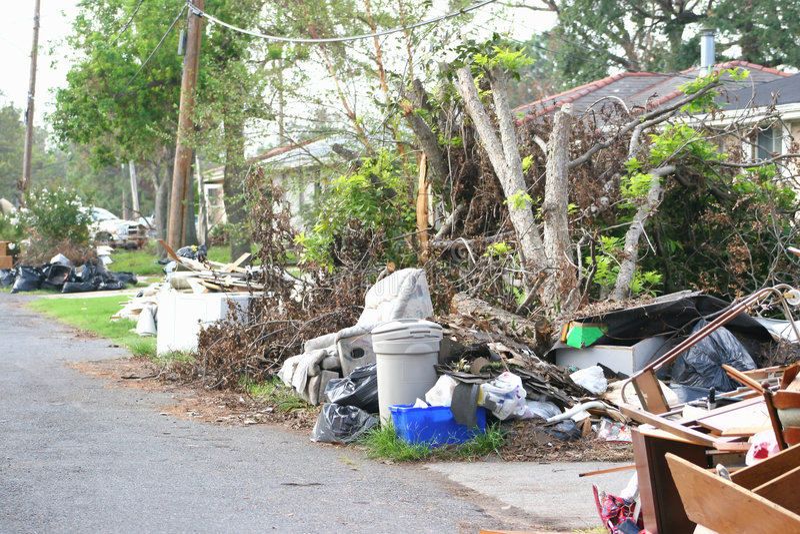 Ouragan Katrina3 images libres de droits