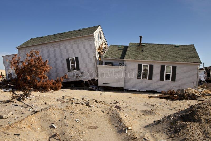 Ouragan Sandy Damage image libre de droits