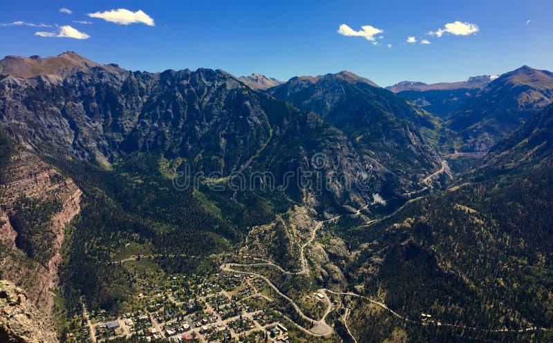 Ouray Colorado imagen de archivo libre de regalías