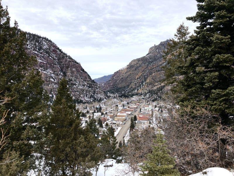 Ouray Colorado fotografia de stock royalty free
