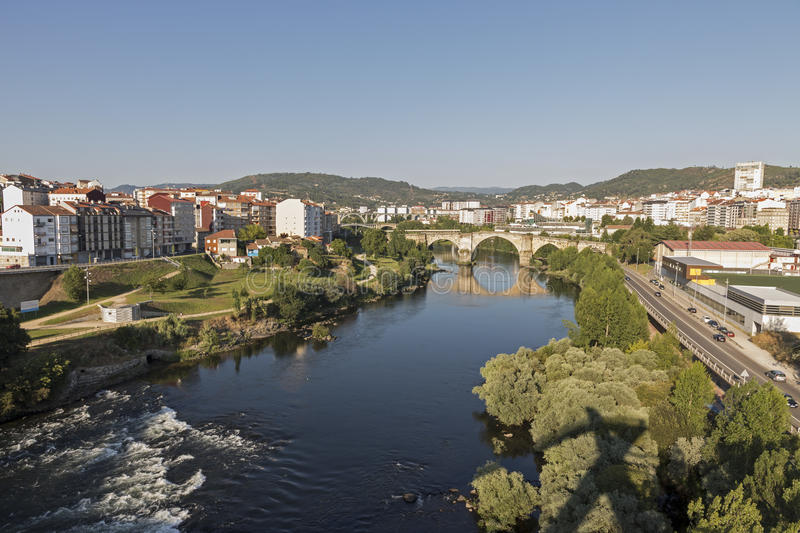 Download Ourense, Galicia, Spain stock image. Image of water, romanic - 33252233