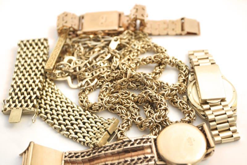 Ouro imagem de stock royalty free