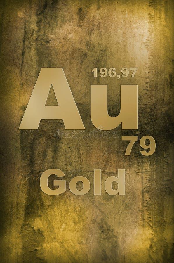 Ouro (Aurum) foto de stock royalty free