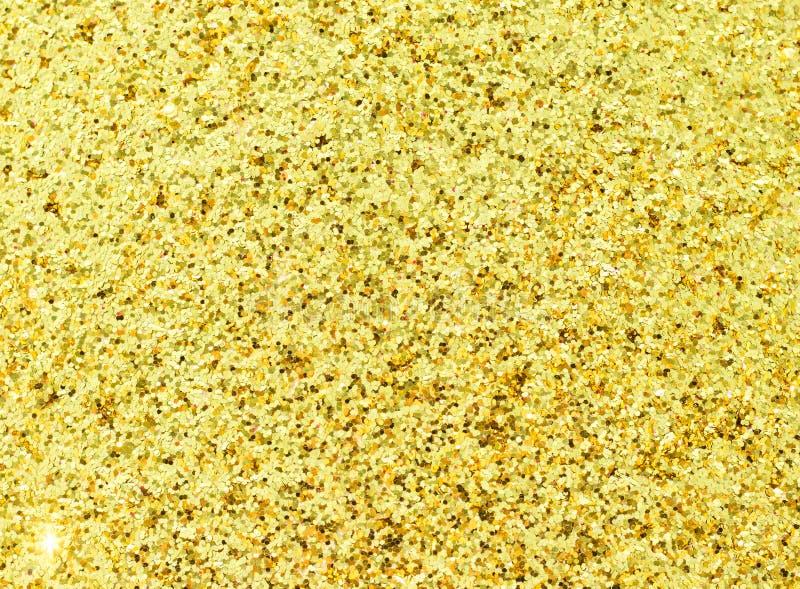 Ouro brilhante chapeado imagens de stock