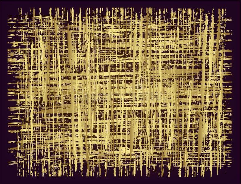 Ouro do fundo   ilustração stock