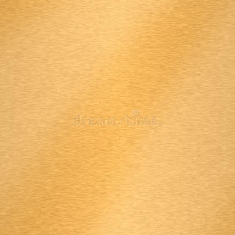 Ouro escovado imagens de stock