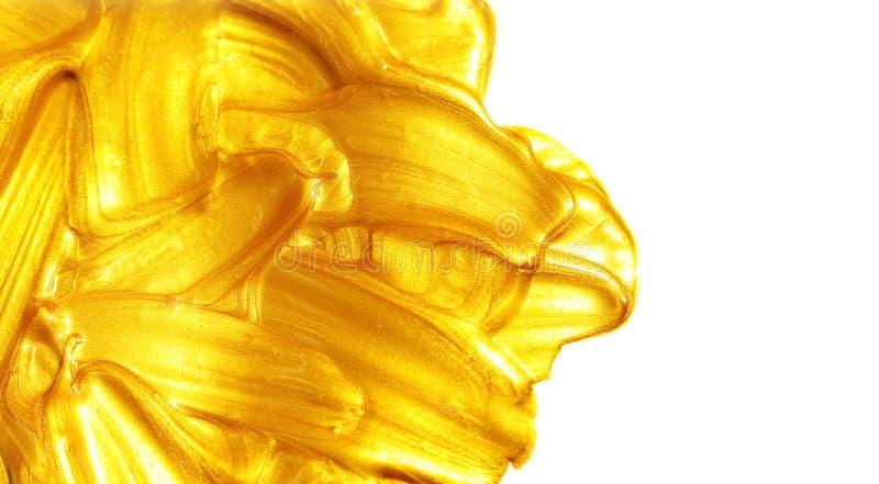 Ouro líquido. imagem de stock