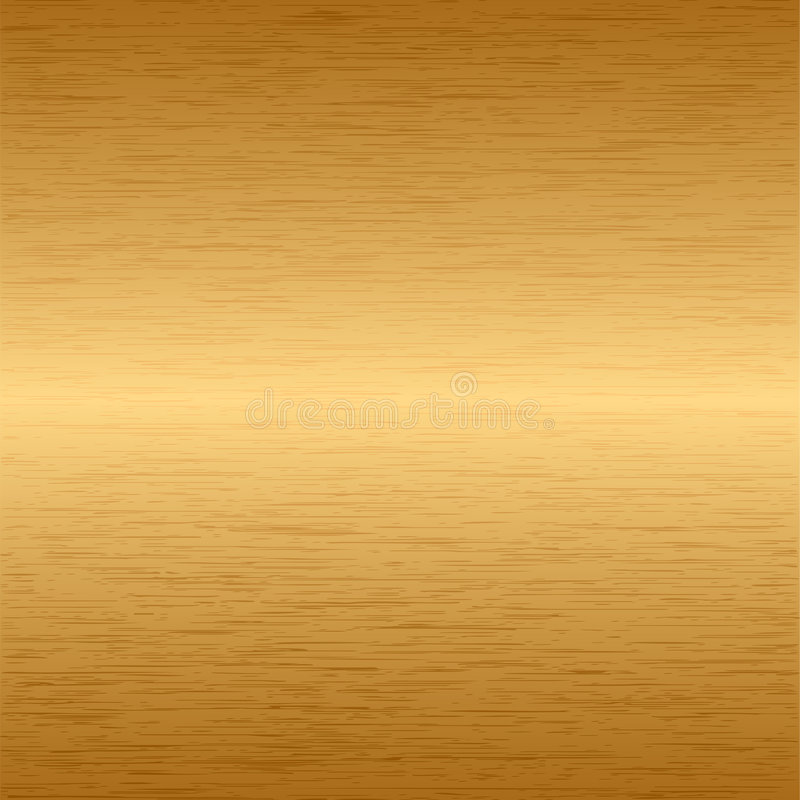 Ouro metálico ilustração do vetor