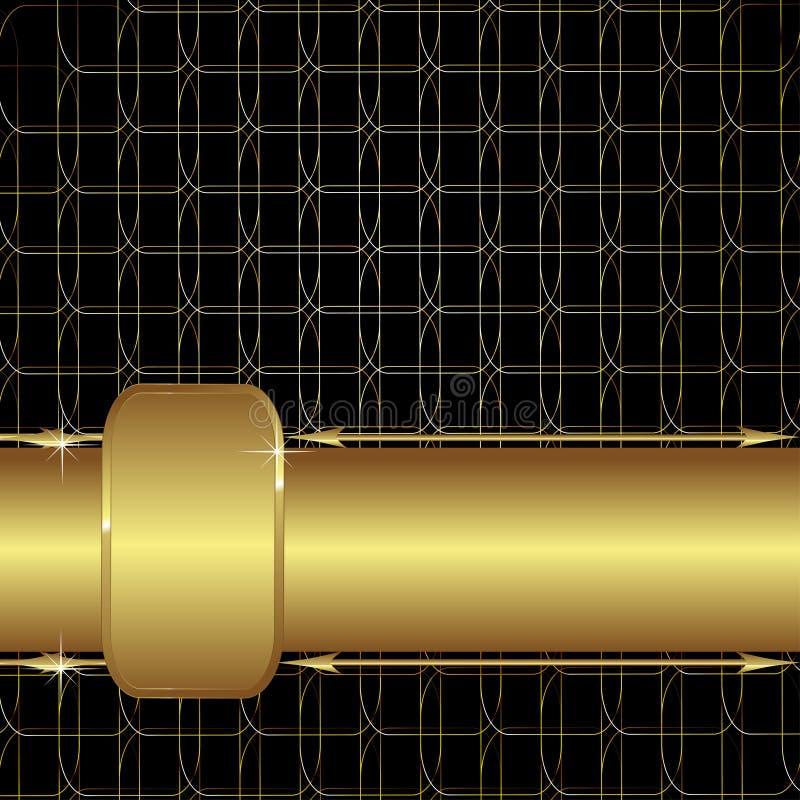Download Malha do ouro ilustração do vetor. Ilustração de festive - 29844502