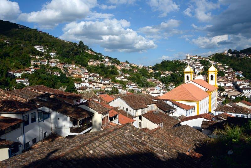 Ouro Preto в минах Gerais, Бразилии стоковые изображения