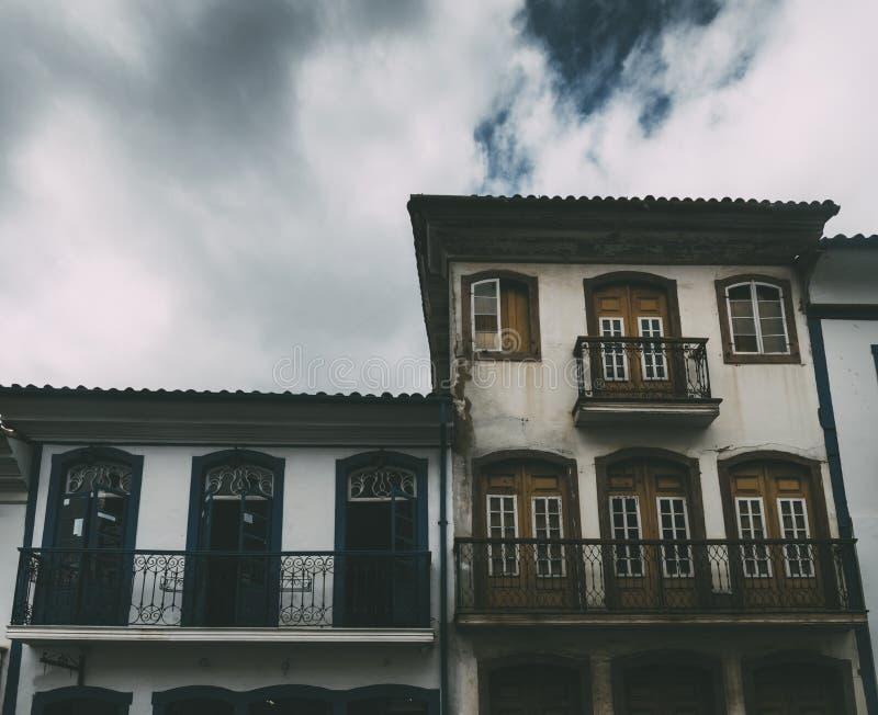 Ouro Preto, мины Gerais, Бразилия стоковые фотографии rf