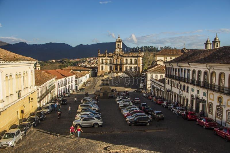 Ouro Preto - мины Gerais - Бразилия стоковые изображения