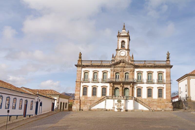 Ouro Preto, мины Gerais, Бразилия стоковая фотография