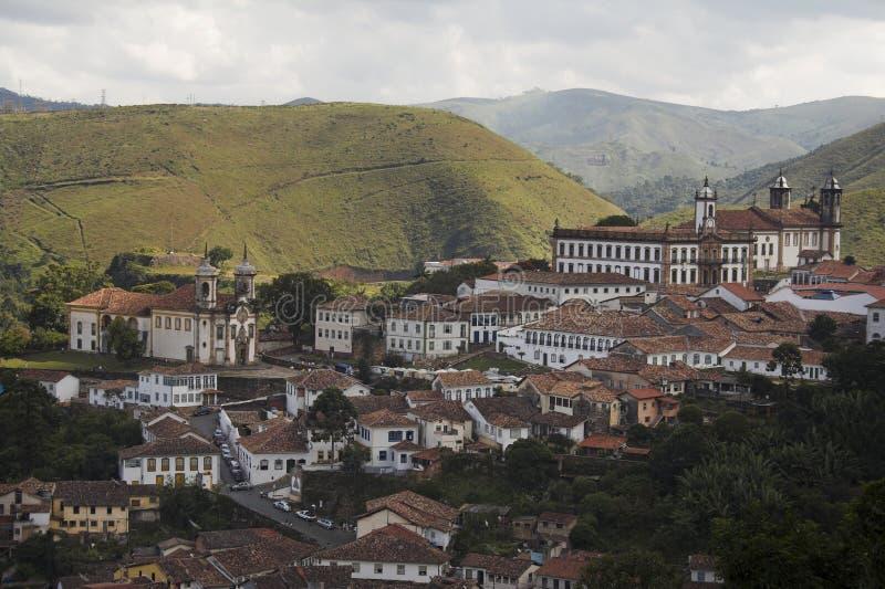 Ouro Preto foto de stock