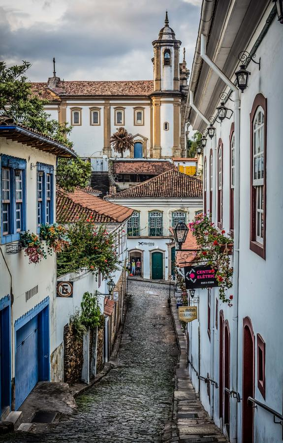 Ouro Preto imagens de stock royalty free