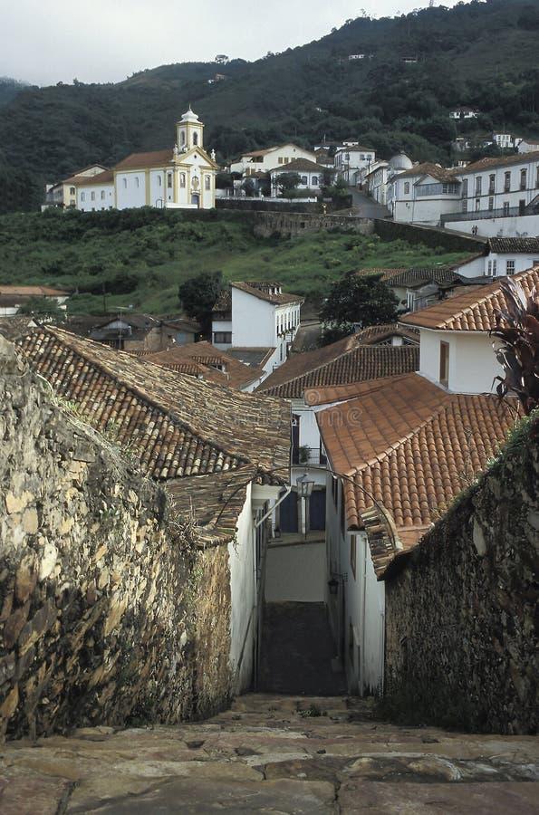 Free Ouro Preto, Brazil. Royalty Free Stock Photo - 44053485