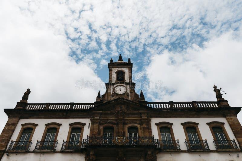 Ouro Preto, minas gerais, Brazylia punkt zwrotny obraz stock