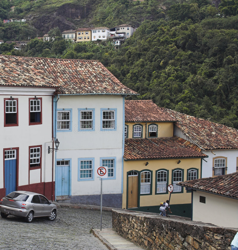 Download Ouro Preto Streets Stock Image - Image: 787211