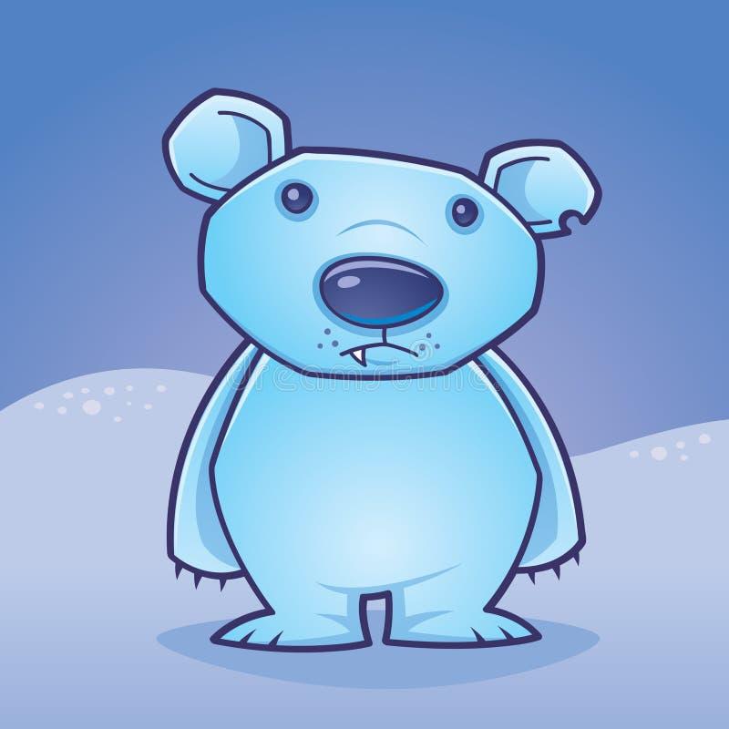 Ours blanc Cub illustration libre de droits