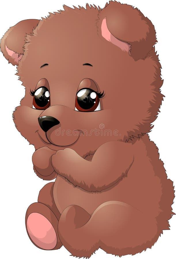 Ours dans la belle pose illustration libre de droits