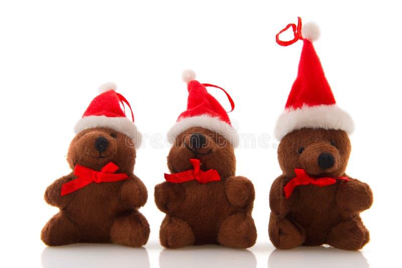 Ours de Noël images stock