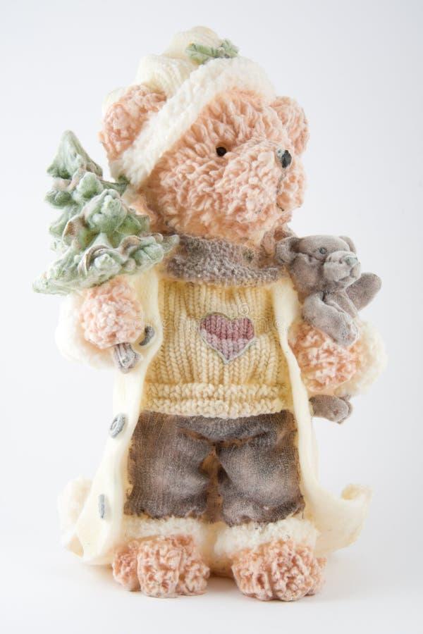 Ours de Noël photographie stock