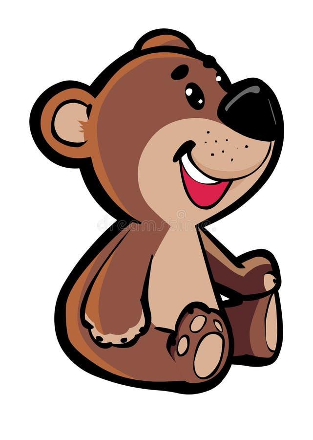 Ours de nounours illustration libre de droits
