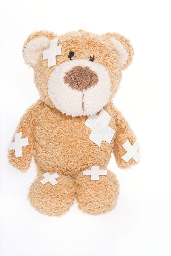 Ours de nounours dans l'hôpital photo libre de droits