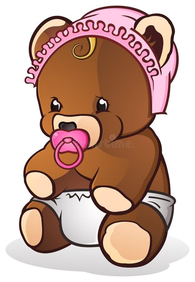 Ours de nounours de chéri illustration de vecteur