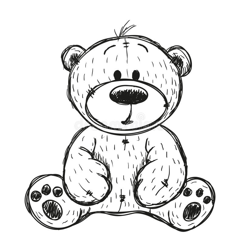 Ours de nounours de dessin illustration de vecteur illustration du enfants 78660270 - Dessins de nounours ...