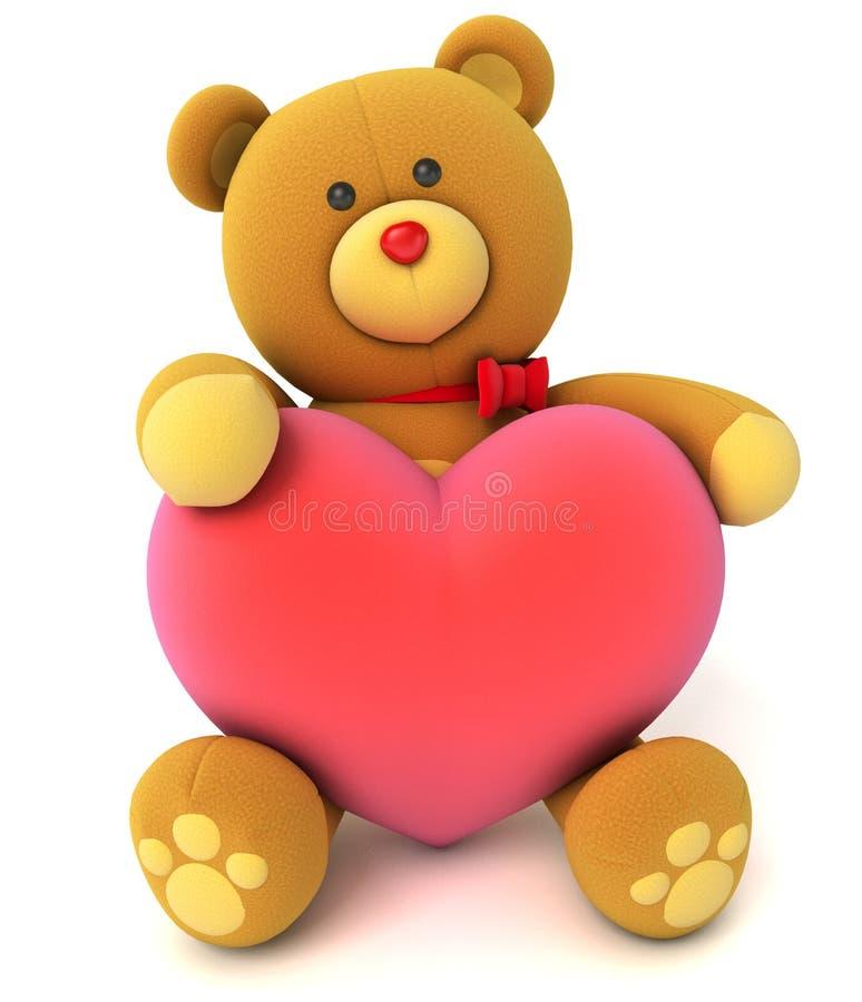 Ours de nounours de jouet illustration libre de droits
