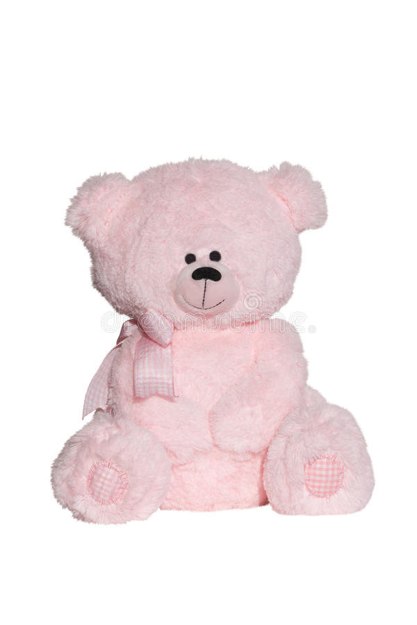 Ours de rose de jouet image libre de droits