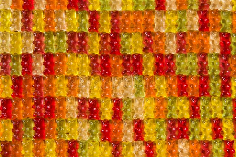 Ours gommeux colorés photos libres de droits
