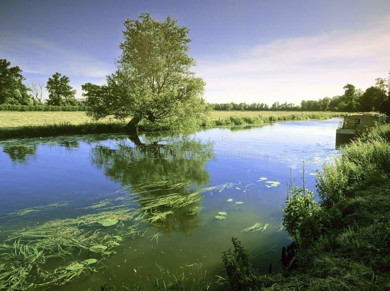 Ouse реки большое стоковое изображение rf